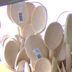 UPC on Wooden Spoons